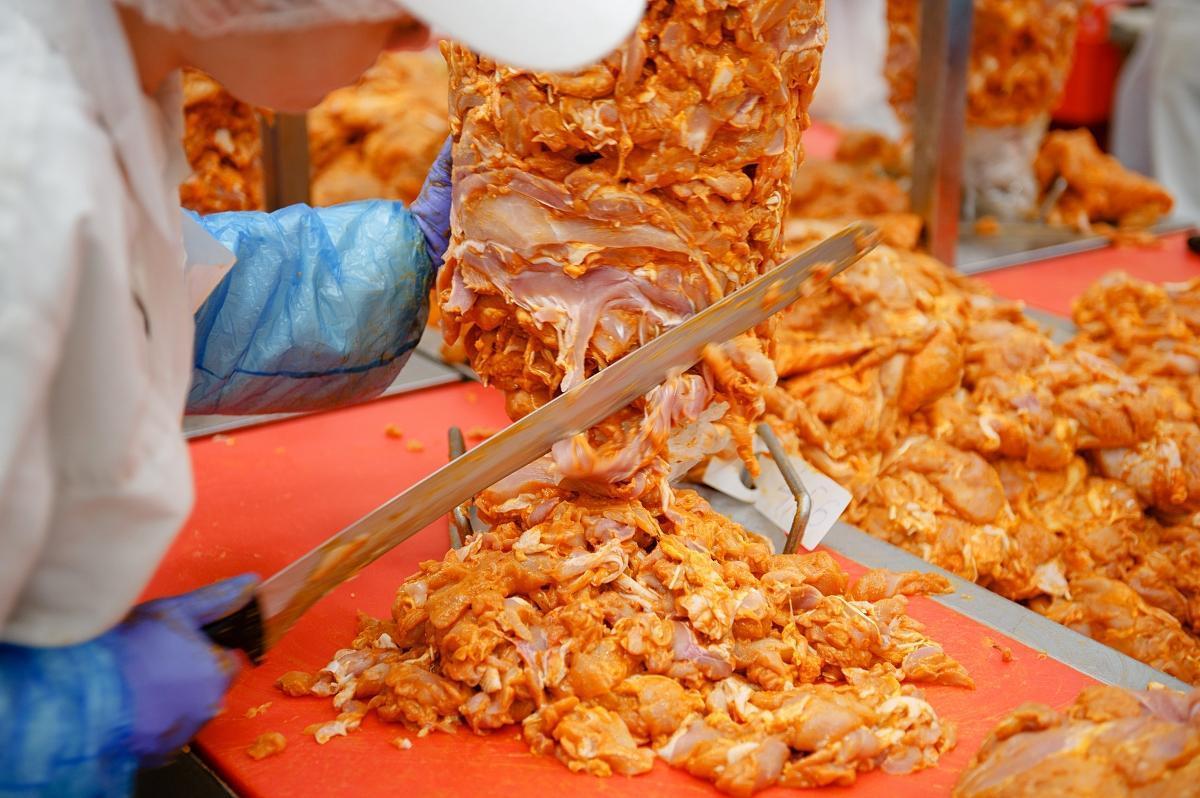 Produkcja Kebabu